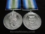 FULL SIZE SOUTH ATLANTIC MEDAL (FALKLANDS MEDAL) REPLACEMENT COPY
